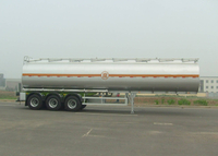 36000L Carbon Steel Tanker Trailer with 3 Axles for City Transit,Refuel Carbon Steel Tanker Trailer