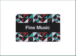 Plastic Card with Customer Logo