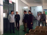 The leader of Tongliong city visited our company