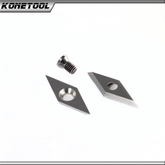 Diamond Shape Carbide Insert Cutter for Woodturning