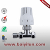 Thermostatic Radiator valve,Red copper pipe straight valve