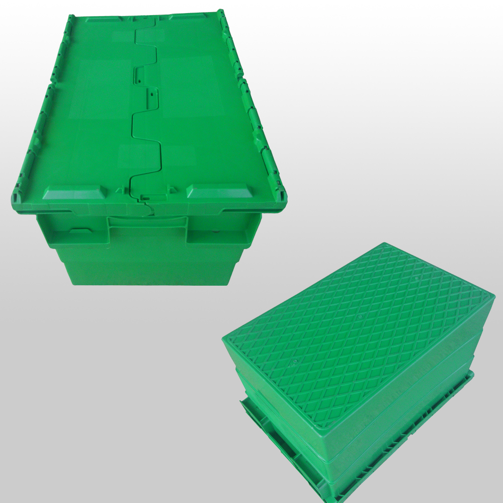 Plastic stack and nest containers 600x400x360mm
