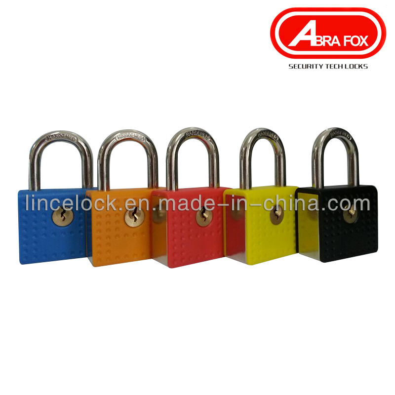 Zinc Alloy Lock Body with ABS Cover Padlock