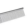 Metal Pet Dog Cat Hair Flea Combs Stainless Steel Pet Grooming Lice Comb for Dogs