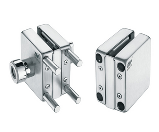VM-300 FINGERPRINT IDENTIFICATION GLASS DOOR LOCK