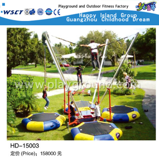 Luxury Open Adult 4 Person Jumping Trampoline en stock (HD-15003)
