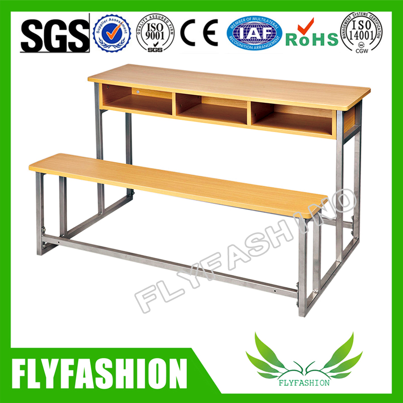 New design double cheap school tables and chairs (SF-39D)