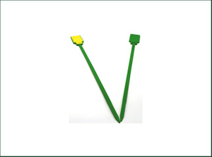 Green Waterproof HF RFID abs Tie tag