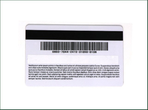 Card with Magnetic Stripe For Hotel