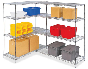 Chemical Products Storage Shelves