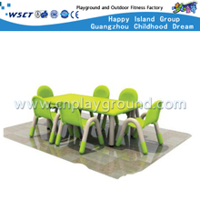 School Children Plastic Rectangle Table Furniture (M11-07605)