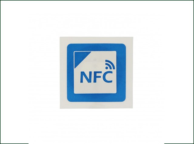 Mobile Payment 13.56MHz Printable Paper NFC Tag Ntag215 Sticker
