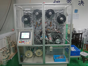 Photoelectric correction slitter