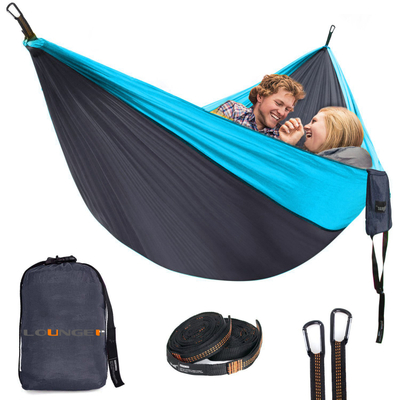 USA Tree Hammock with 10feet Strap and Carabiners