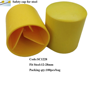 PE 12-28mm Safety cap for steel
