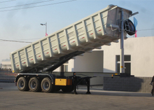 42 cbm Dump Semi Trailer with 3 BPW axles and hydraulic dumper for mine and construction material, Dump Semi Trailer,Tipper
