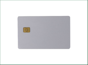 Durable RFID Glossy White Card