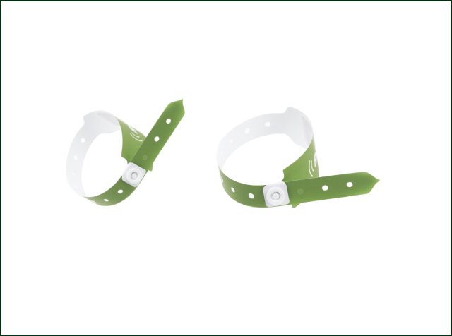 Festival Event Printing Paper Custom One Time Use Tyvek Wristbands