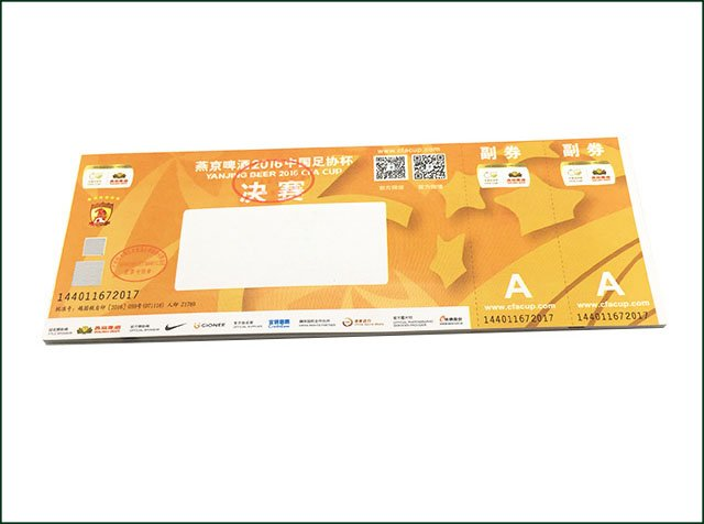 Colorful Event Venues RFID Ticket
