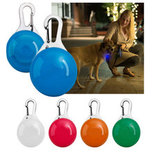 New flashing High Quality LED pet safety light ID tag dog pet collar for pet warning light