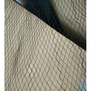 HDPE 20gsm black color pond net with peg, applied for pond, cover the pond,