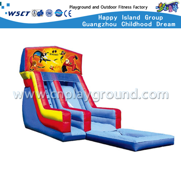 HD-9606 Outdoor Kinder aufblasbare Slide Schloss