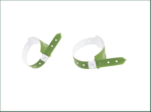 Customized Paper One Time Tyvek Printed Wristband For Hospital
