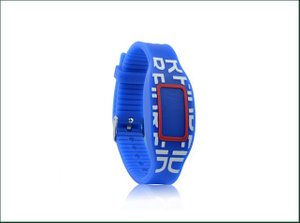 Custom Logo Waterproof Programmable Debossed Silicone NFC RFID Wristband