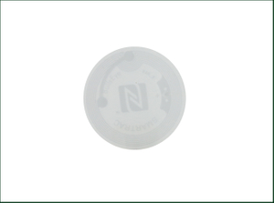 ISO14443A Printable Paper NFC216 Programmable NFC Sticker Tag for Phone