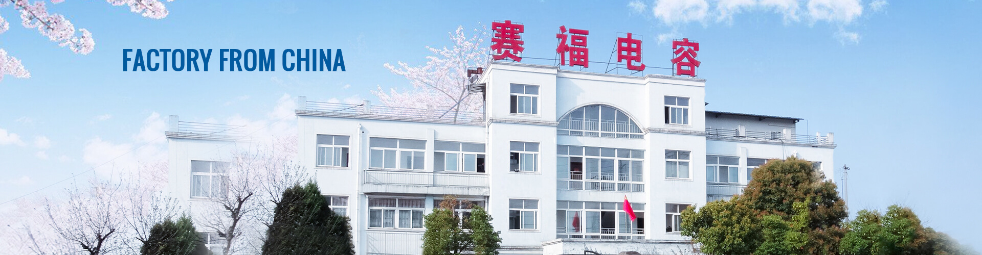China capacitor factory