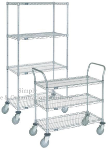 Chrome Plated Industrial Metal Racks