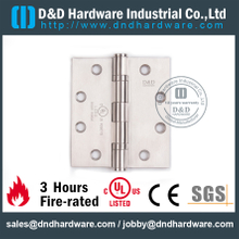 SS Grade 304 Four Ball Bearing Hinge with UL Certificate for Metal Door-DDSS454034