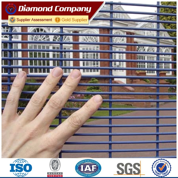 High Security Boundary Gate Fencing 358 Anti Cut Prison