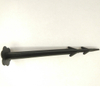 12.1cm length PP Black color plastic ground pegs,ground cover pins ,plastic nail