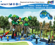 Green Tree Feature Outdoor Children Playground HF-10802