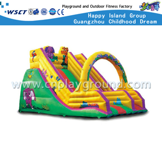 HD-9602 animal inflable Slide Castle Kindergarten Equipment