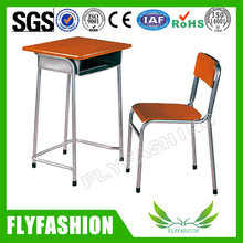 Hot sale wooden student desk and chair,school furniture(SF-79S)