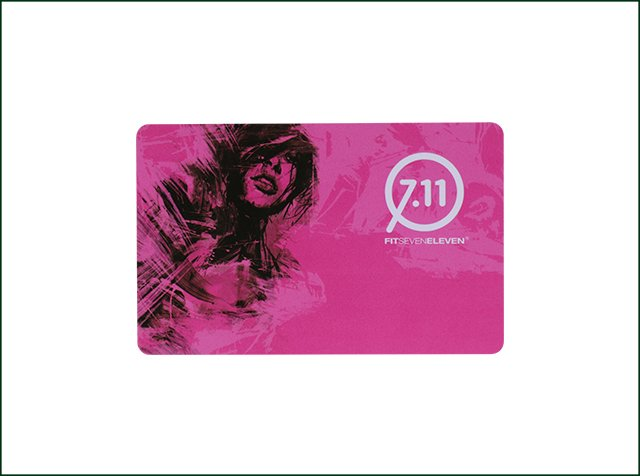 Contactless Full Color Printing NFC Writable Card