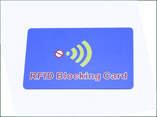 RFID Custom Blocking Card For Bank Card Protection