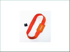 Adjustable Customized Design RFID Nylon Wristband