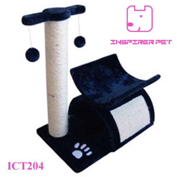 Cat ScratchingToy with Rope Ball