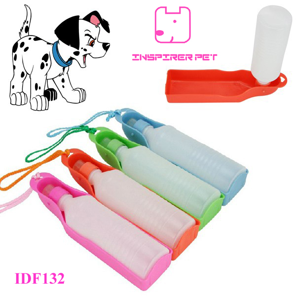 500ML Pet Dog Cat Outdoor Portable Drinking Bottle Bowl