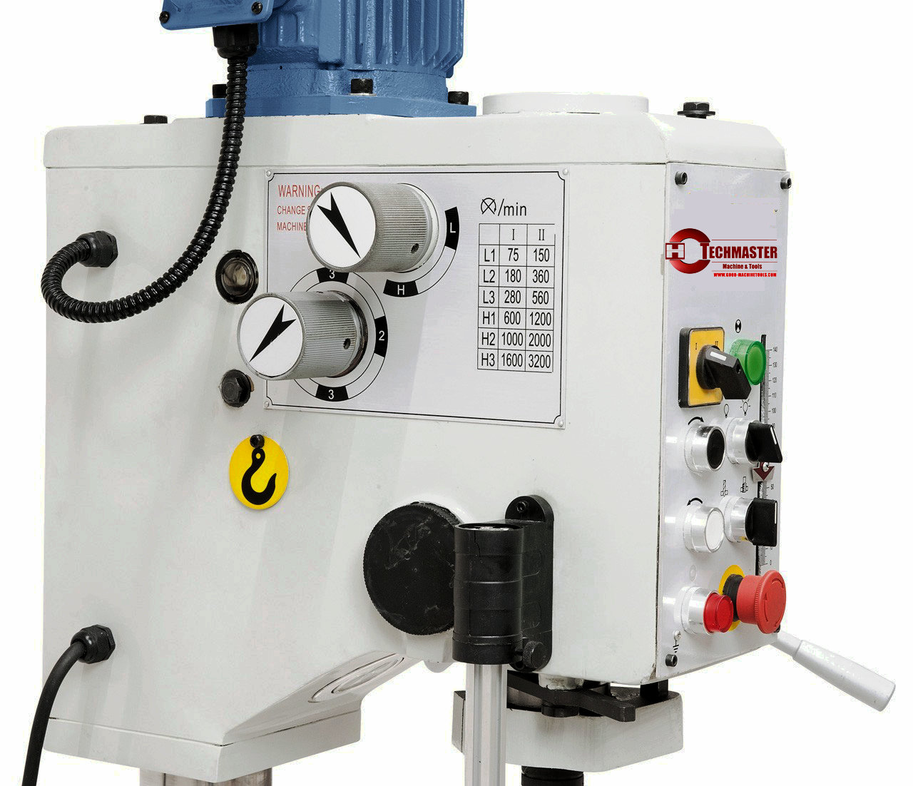 AUTO FEEDING GEARED HEAD DRILLING MACHINE EUROPE STYLE Z5025
