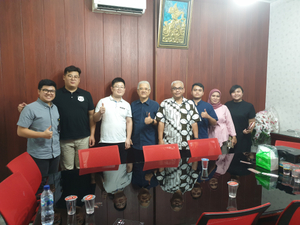 Weiman service team visit Indonesia customers