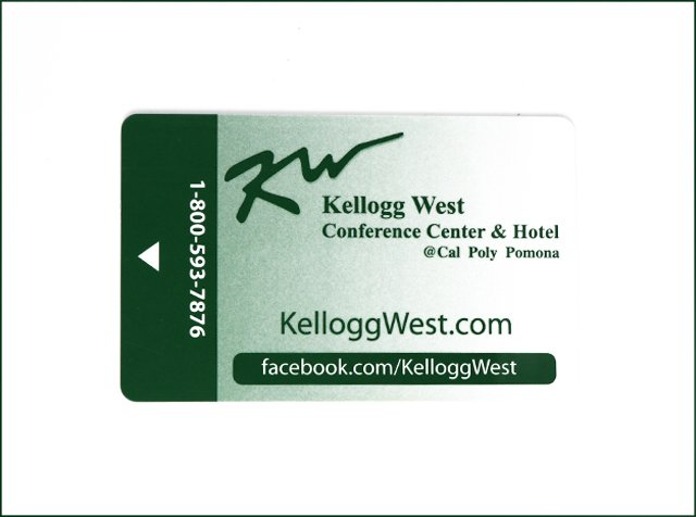 Customized Magnetic Stripe Hotel Key Card