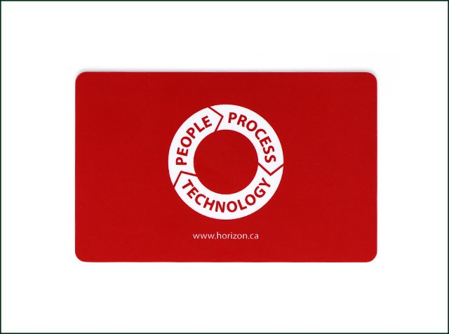 Four Color Printing RFID Smart Card