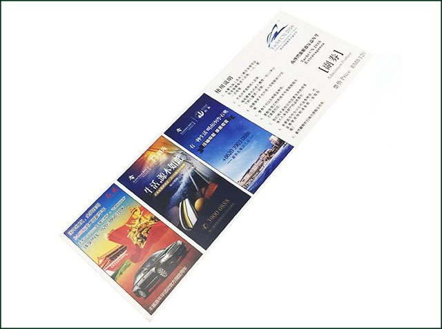 Custom Printing RFID Ticket for Transportation Station