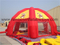 RB41011(6x6m)Inflatable Dome Shaped Bull Riding Tent for Advertising