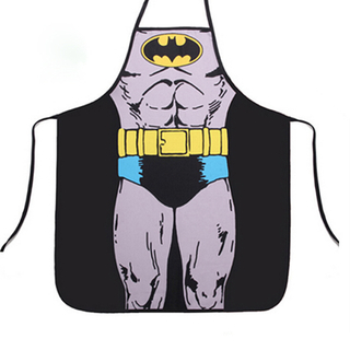 Superhero Home Cosplay Party Gift batman Apron for men