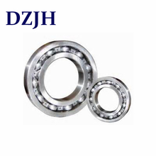 Single row deep groove ball bearings with filling slots